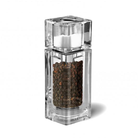 Moulin combiné sel et poivre Cube 145 mm